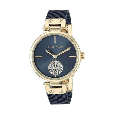 Reloj-para-Dama-Anne-Klein-Acero-Inoxidable-Azul-3001GPBL-W