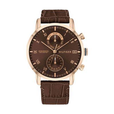 Reloj-para-Caballero-Tommy-Hilfiger-Kane-Resistente-al-Agua-Cafe-1710400-W