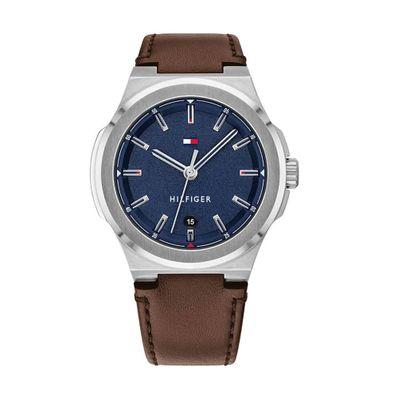 Reloj-para-Caballero-Tommy-Hilfiger-Princeton-Resistente-al-Agua-Cafe-1791645-W
