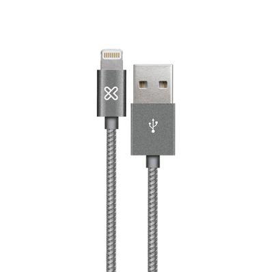 Cable-Lightning-Klip-Xtreme-KAC-001RG-Gris-AB300KLX22-W