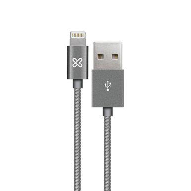 Cable-Lightning-Klip-Xtreme-KAC-010RG-Gris-AB300KLX26-W