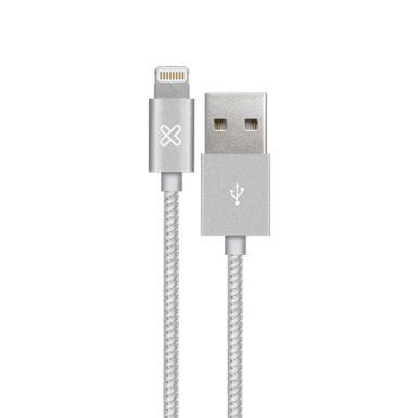 Cable-Lightning-Klip-Xtreme-KAC-020SV-Silver-AB300KLX28-W