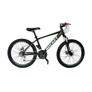Bicicleta-Rocket-Aro-24-Aluminio-Negro-Verde-R-MO24NEVE-W