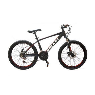Bicicleta-Rocket-Aro-24-Aluminio-Negro-Tomate-R-MO24NETO-W