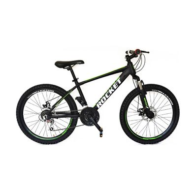 Bicicleta-Rocket-Aro-26-Aluminio-Negro-Verde-R-MO26NEVE-W