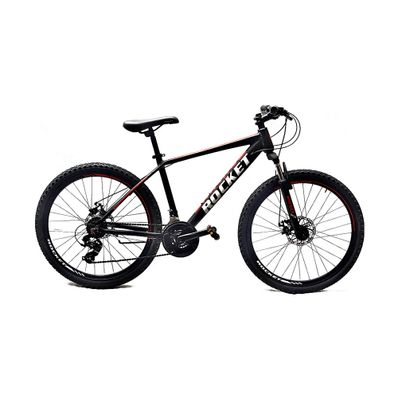 Bicicleta-Rocket-Aro-26-Aluminio-Negro-Roja-R-MO26NERO-W