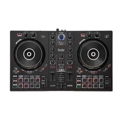 Controlador-de-DJ-IMPULSE300-Hercules-8-pads-x-8-modos-IMPULSE-300-W