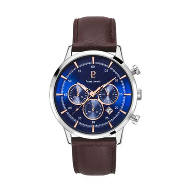 Reloj-para-Caballero-Pierre-Lanier-Capital-Plateado-con-Cafe-224G169-W