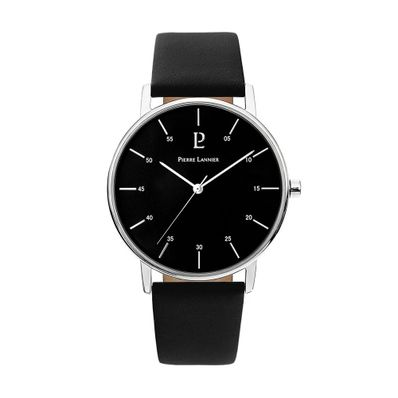 Reloj-para-Caballero-Pierre-Lanier-City-Plateado-con-Negro-202J133-W