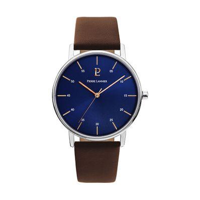 Reloj-para-Caballero-Pierre-Lanier-City-Plateado-con-Cafe-202J164-W