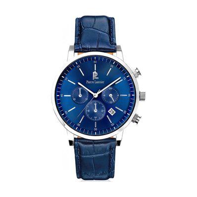 Reloj-para-Caballero-Pierre-Lanier-Spirit-Plateado-con-Azul-213C166-W