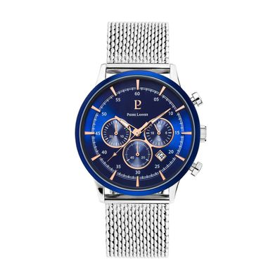 Reloj-para-Caballero-Pierre-Lanier-Capital-Plateado-224G168-W