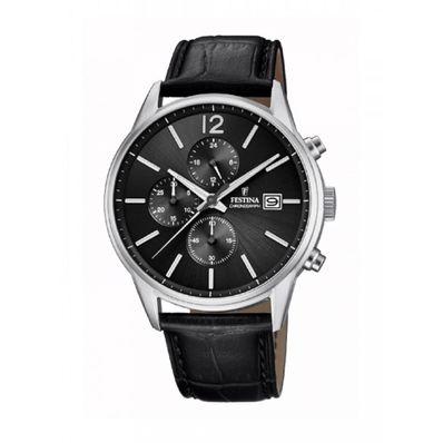 Reloj-para-Caballero-Festina-Timeless-Negro-F20284-4-W