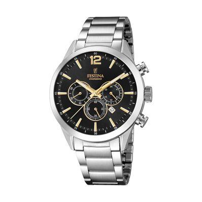 Reloj-para-Caballero-Festina-Timeless-Plata-F20343-4-W