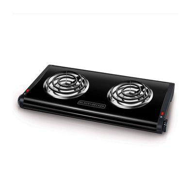 Hornilla-Electrica-Black-Decker-Negro-BD-DB1002B-W
