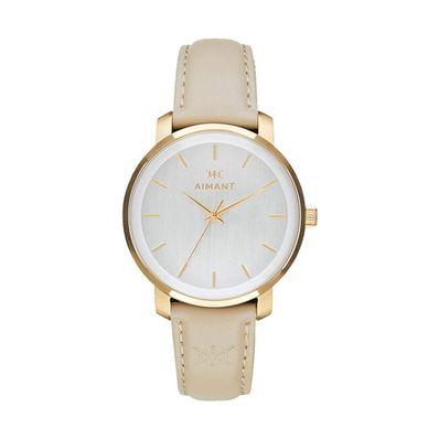 Reloj-para-Caballero-Aimant-Bali-Resistente-al-Agua-Gold-Beige-LBA-210L5-7G-W