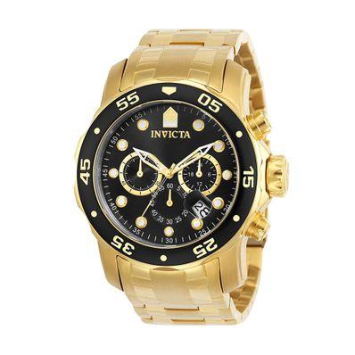 Reloj-para-Caballero-Aimant-Pro-Diver-Acero-Inoxidable-Gold-Black-72-W