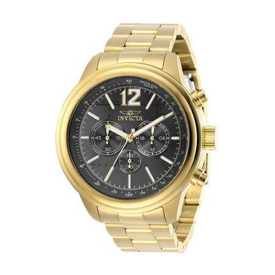 Reloj-para-Caballero-Invicta-Aviator-Dorado-Charcoal-28900-W