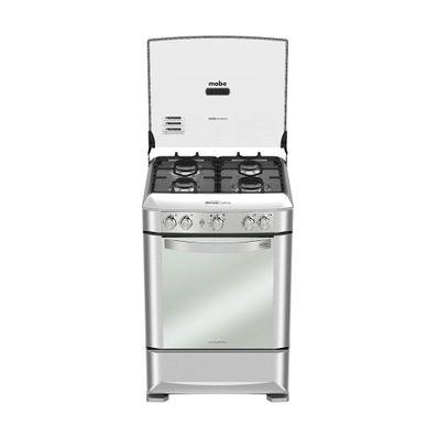 Cocina-a-Gas-Mabe-EM6060FX0-4-Quemadores-60-cm-Acero-Inoxidable