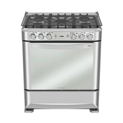 Cocina-a-Gas-Mabe-EM7640FX0-5-Quemadores-76-cm-Grill
