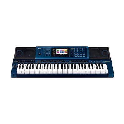 Teclado-Casio-MZ-X500-W-61-Teclas-Polifonia-128-Notas-Display-Tactil-Azul