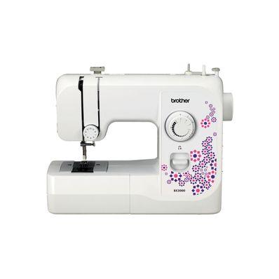 Maquina-de-coser-Brother-BX3000-W-20-Funciones-Recta-y-Zigzag-Blanco-con-Rosa