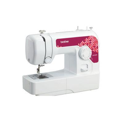 Maquina-de-coser-Brother-VX1445-W-35-Funciones-14-Puntadas-Blanco-con-Rojo