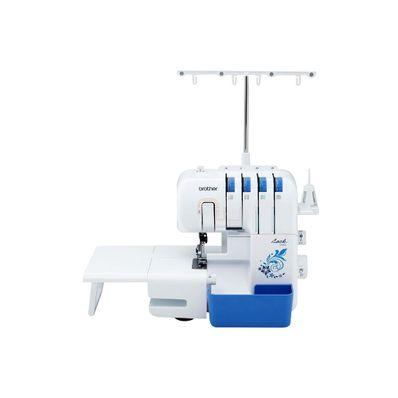 Maquina-de-coser-Brother-3534DT-W-Overlock-de-4-y-5-Hilos-Iluminacion-LED-Blanco-con-Azul