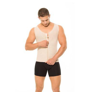 Faja-para-Hombre-Ann-Chery-Comprension-Alta---Corrector-de-Postura-Beige-2034-W2