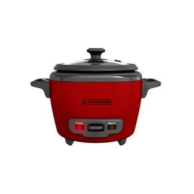 Olla-Arrocera-Black-Decker-RC503R--3-Tazas-Recipiente-Removible-Rojo