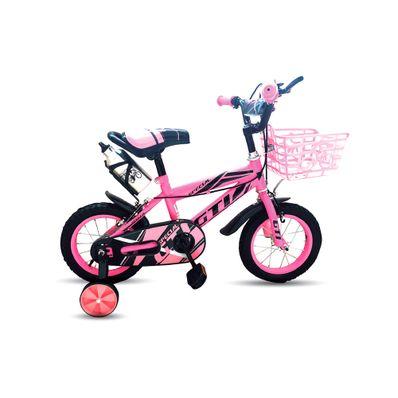 Bicicleta-para-Niña-GTI-Special-B15216A-Aro-16-Canastilla-Portatermo-Rosado