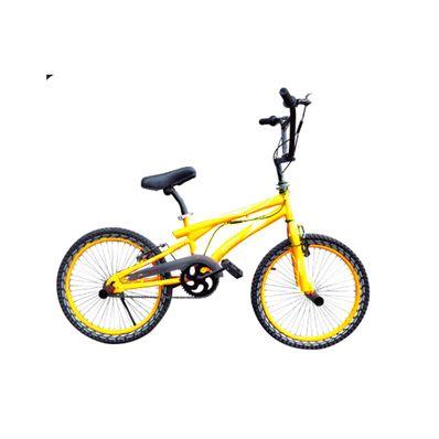 Bicicleta-GTI-BMX-B15021K-Aro-20-Frenos-de-Disco-Hidraulicos-Amarilla