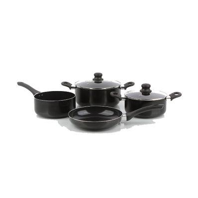 Juego-de-Ollas-Cottura-Torino--6-Piezas-Aluminio-Anodizado-Negro-A101001-W