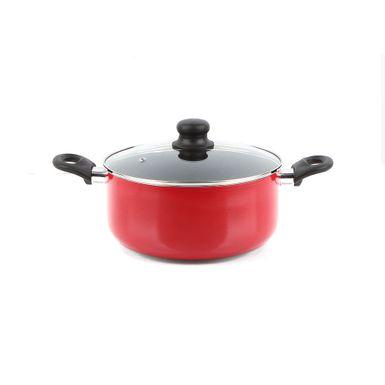 Olla-Cottura-Torino-24-cm-4-Litros-Aluminio-Anodizado-Rojo-A101009-W