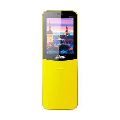 Celular-Simtel-Jeimy-Dual-Sim-Bluetooth-Radio-FM-Amarillo-SIMTELJA-W