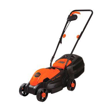 Cortadora-Electrico-de-Cesped-Black---Decker-1200-Watts-3300-RPM-Empuñadura-comoda-Negro-con-Anaranjado-GR1000-B3-W