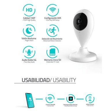 Camara-de-Seguridad-Inteligente-Dexel-720P-Vision-Nocturna-WIFI-Color-Blanco-PS0063-W_3