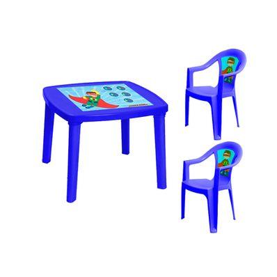 Combo-Infantil-Plapasa-1-Mesa-Desarmable-Toy-y-2-Sillas-con-Brazo-Super-Azul-3058-ESC2AZPA-W