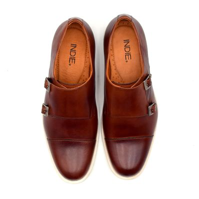 Zapato-Indie-Casual-Double-Monk-Caoba
