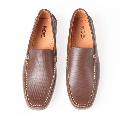 Zapato-Indie-Mocasin-Marron-Con-Textura