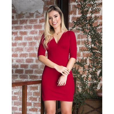 Vestido-Mi-Angel-Rojo