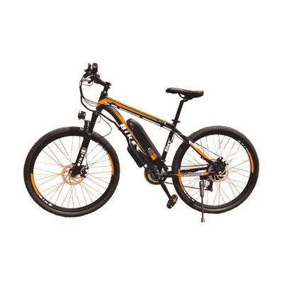 Bicicleta-Electrica-Color-naranja