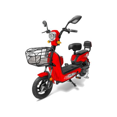 Scooter-Electrico-AMS-Rojo