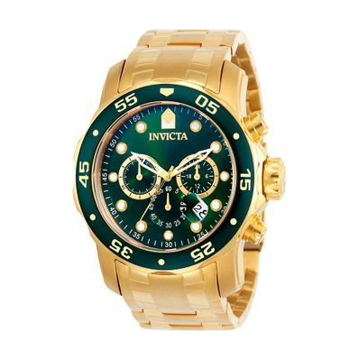 Reloj-para-Caballero-Invicta-Pro-Diver-Colletion-Gold-Green