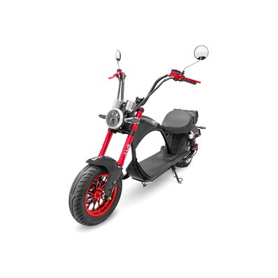 Scooter-Electrico-AMS-Harley-gris