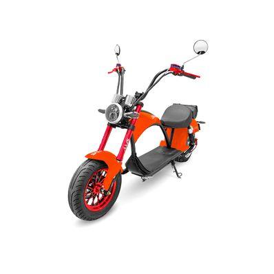 Scooter-Electrico-AMS-Harley-naranja