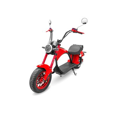 Scooter-Electrico-AMS-Harley-color-rojo