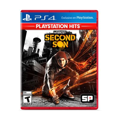 Videojuego-PS4-Infamous-Second-Son