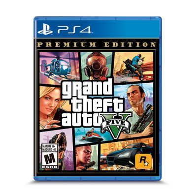 Videojuego-PS4-Gta-V